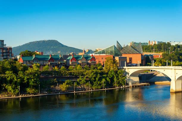 Chattanooga skyline stock photo