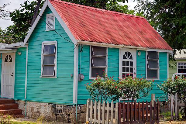 Chattel-Haus in, Barbados Holetown – Foto