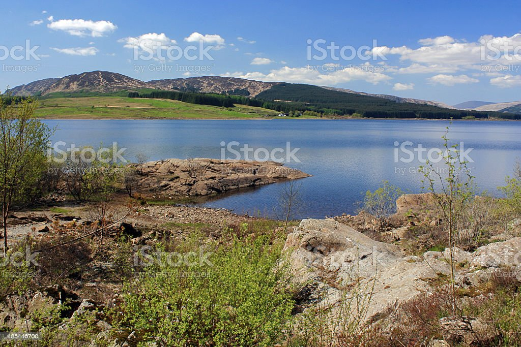 Chatteringshaws Loch royalty-free stock photo