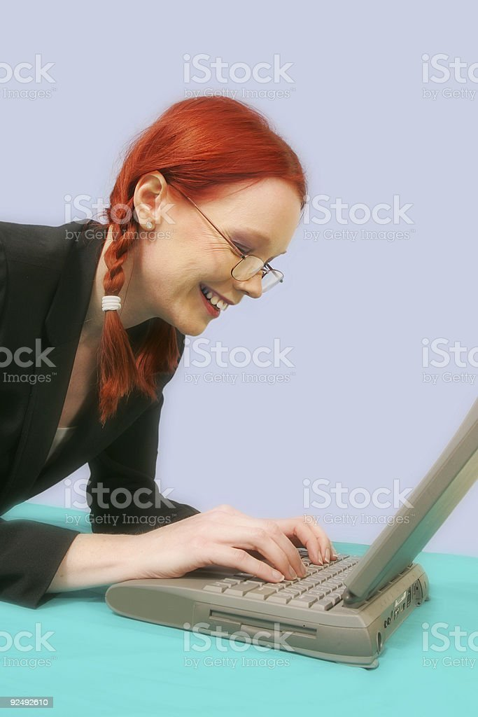 Chatting royalty-free stock photo