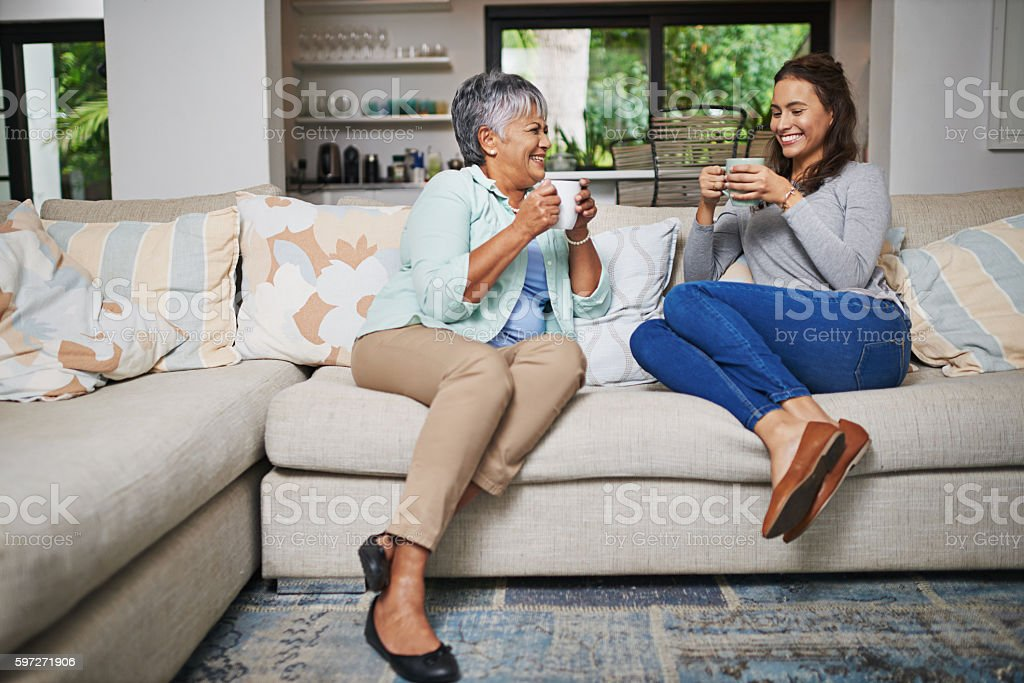 Chatting up a storm royalty-free stock photo