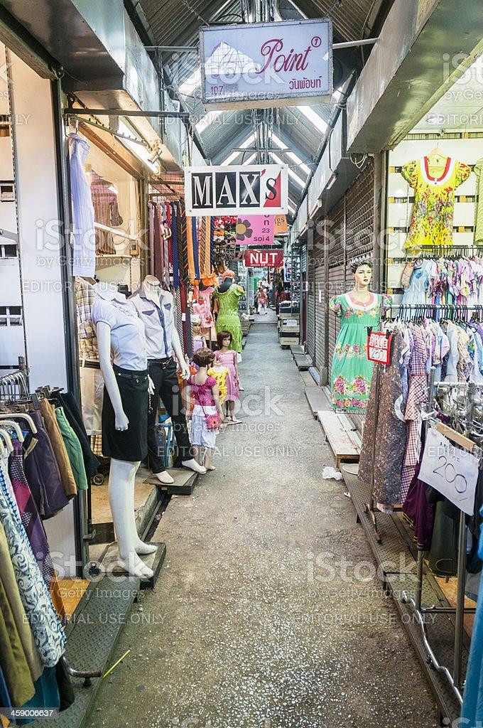 Chatuchak Weekend Market In Bangkok royalty-free stock photo