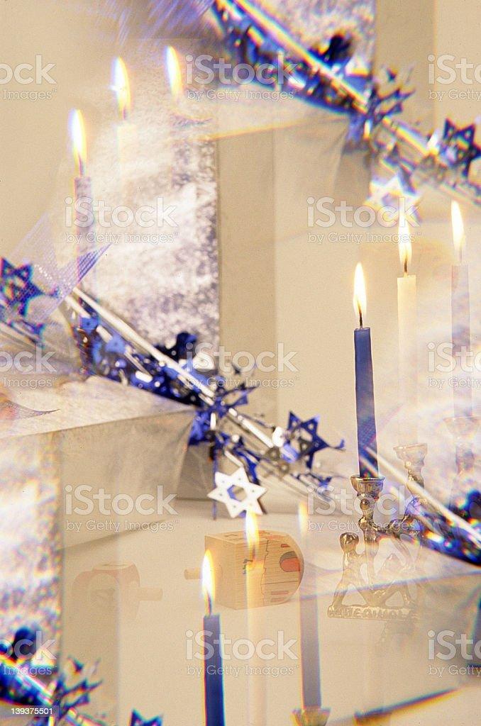 Chaunika Holiday Scene royalty-free stock photo