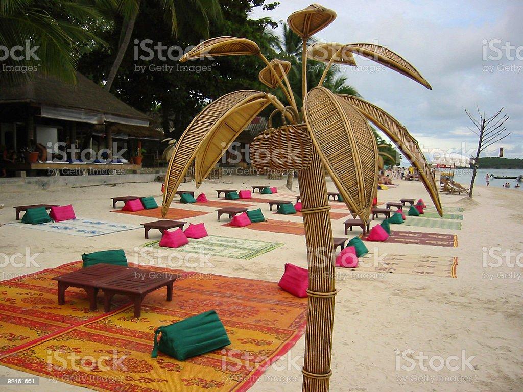 chaweng beach bar koh samui thailand stock photo