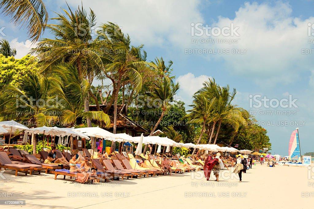 Chaweng Beach stock photo