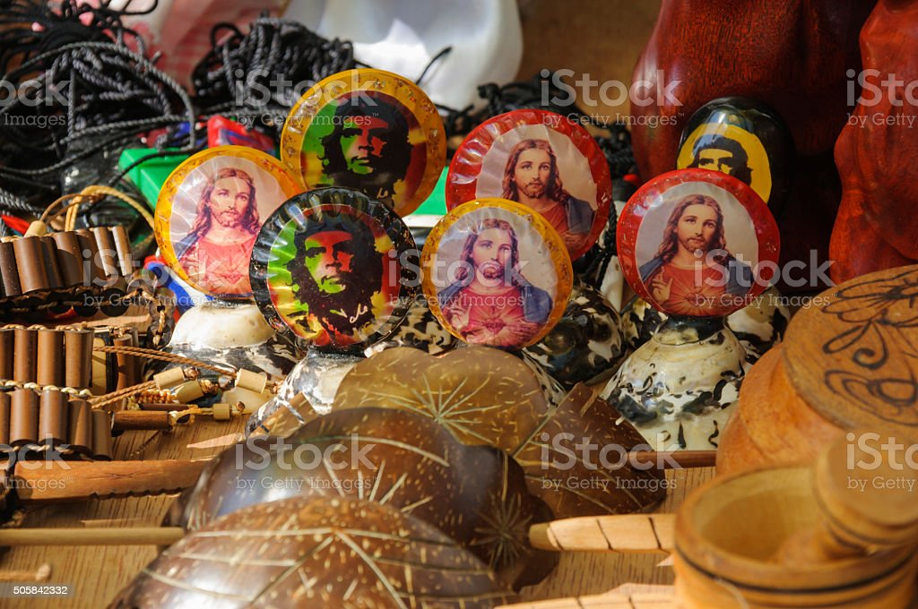 Che Guevara und Jesus – Foto