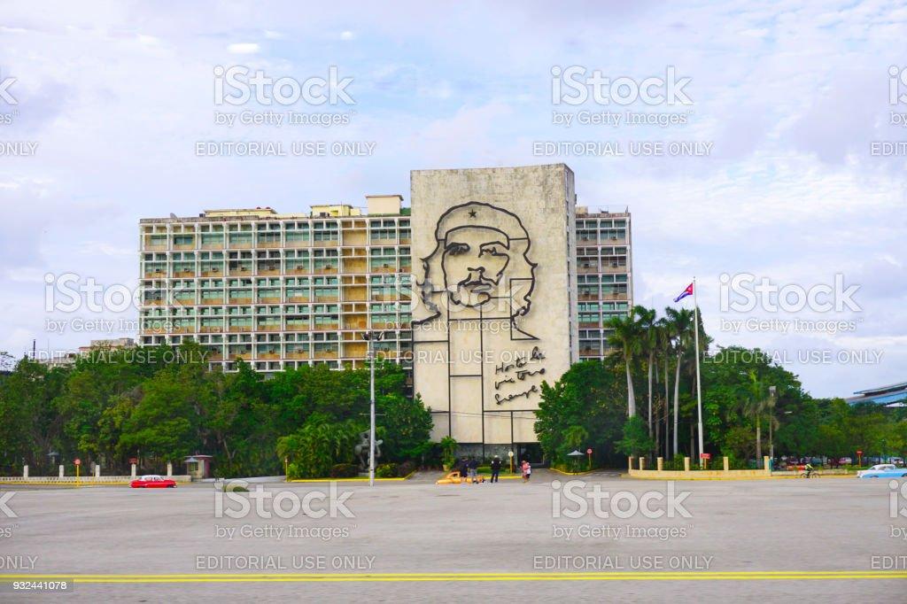 Che Statue, Havana, Cuba stock photo