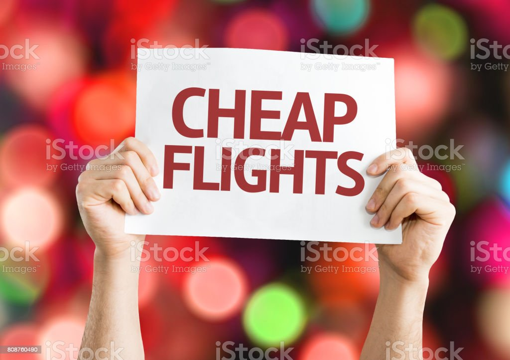 Cheap Fights stock photo