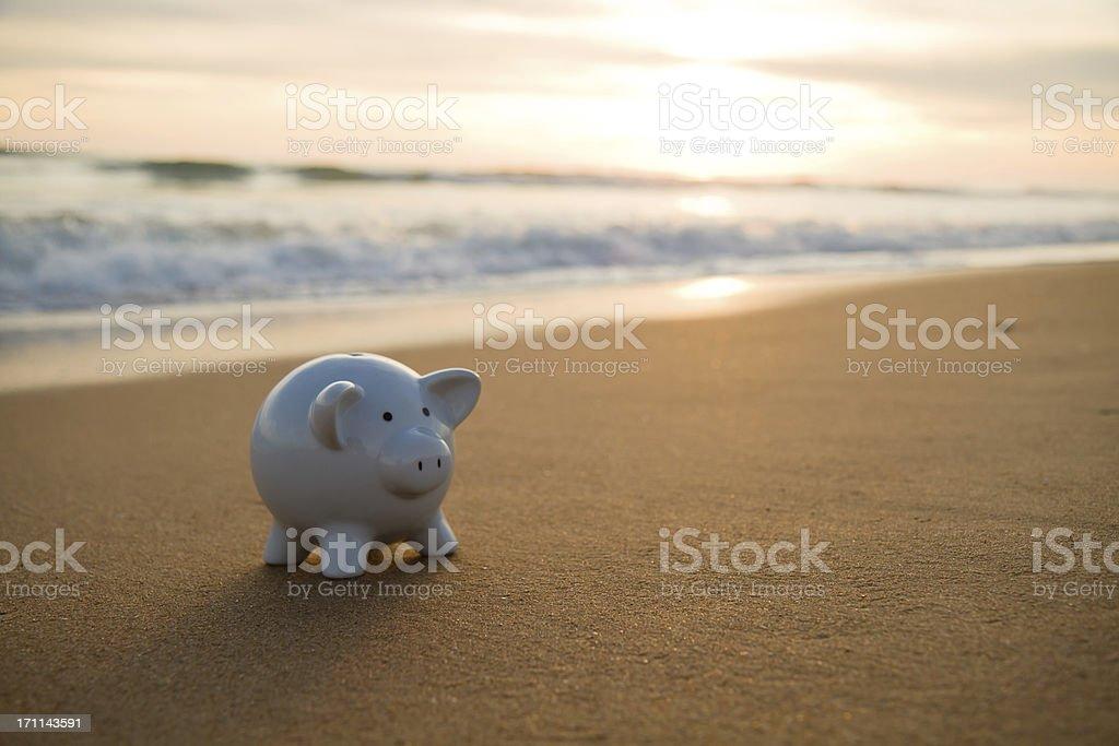 Cheap Vacations royalty-free stock photo