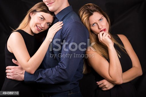 494388938istockphoto Cheated woman suffering after betrayal 494389110