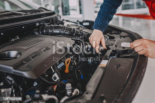 Check and maintenance the water in radiator car with yourself.