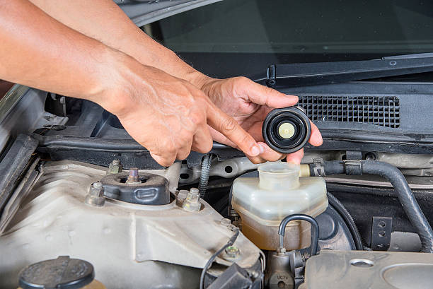 check brake fluid inlet,car maintenance,check  car yourself. - 剎車制 個照片及圖片檔