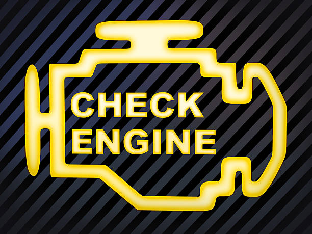Check engine stock photo