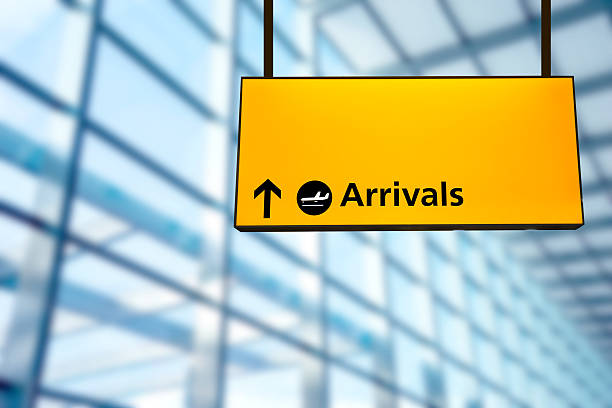 Royalty free airports airport signs symbols pictures - Felpudo arrivals departures ...