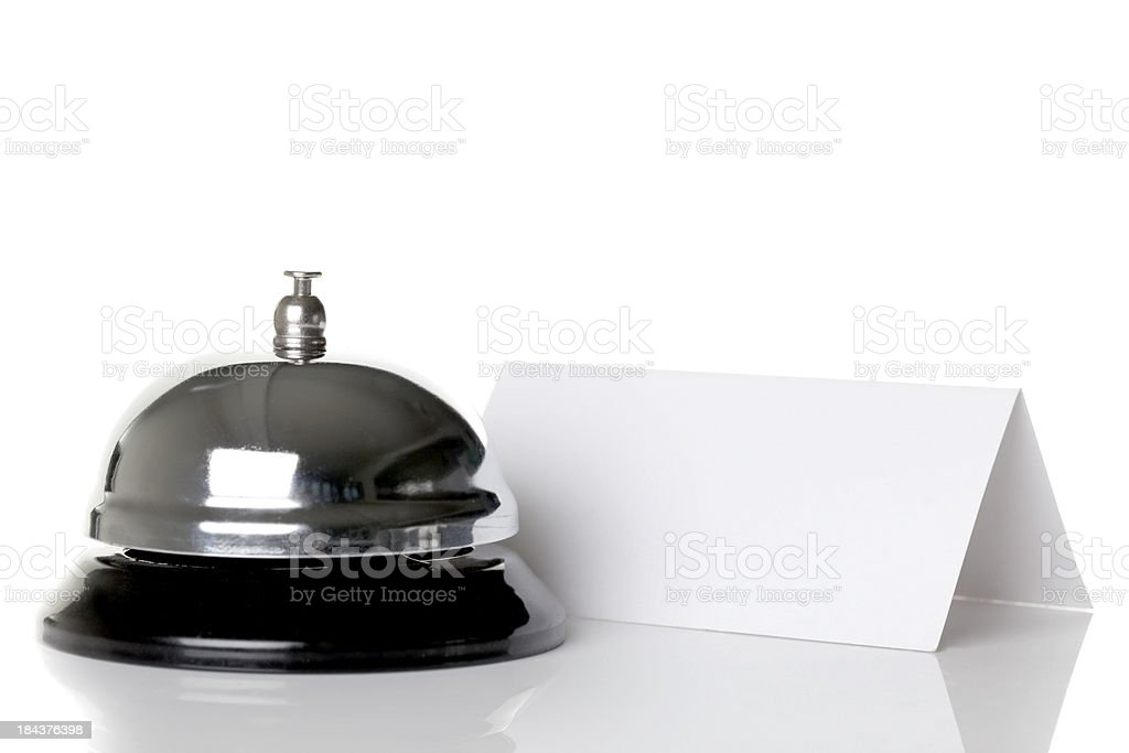 Check in desk royalty-free stock photo