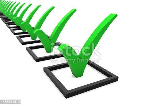 istock Check List 488314310
