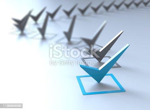 Check list Symbol-concept