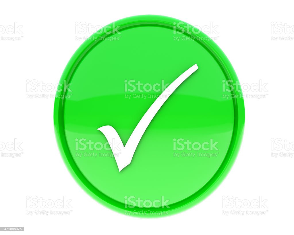 check mark icon royalty-free stock photo