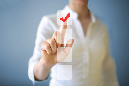 Check Mark Stock Photo - Download Image Now