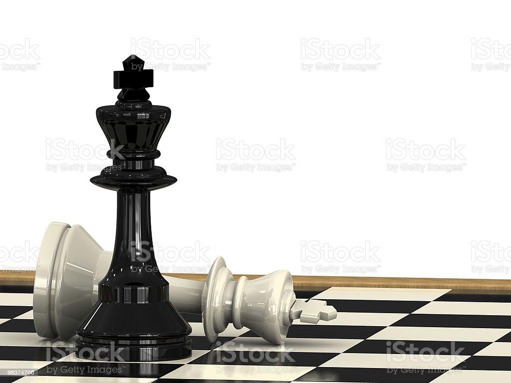 Check Mate royalty-free stock photo