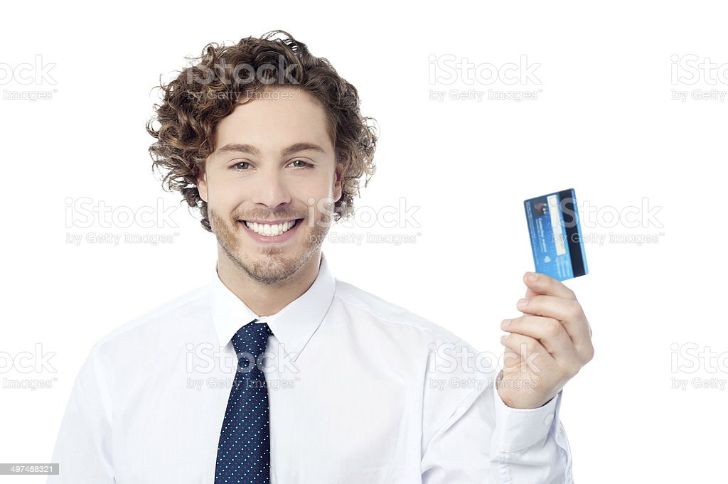 Check out my new exclusive credit card stock photo