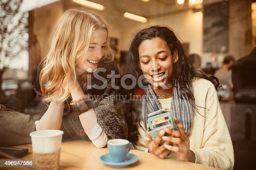 istock Check out this new app I downloaded 496947586