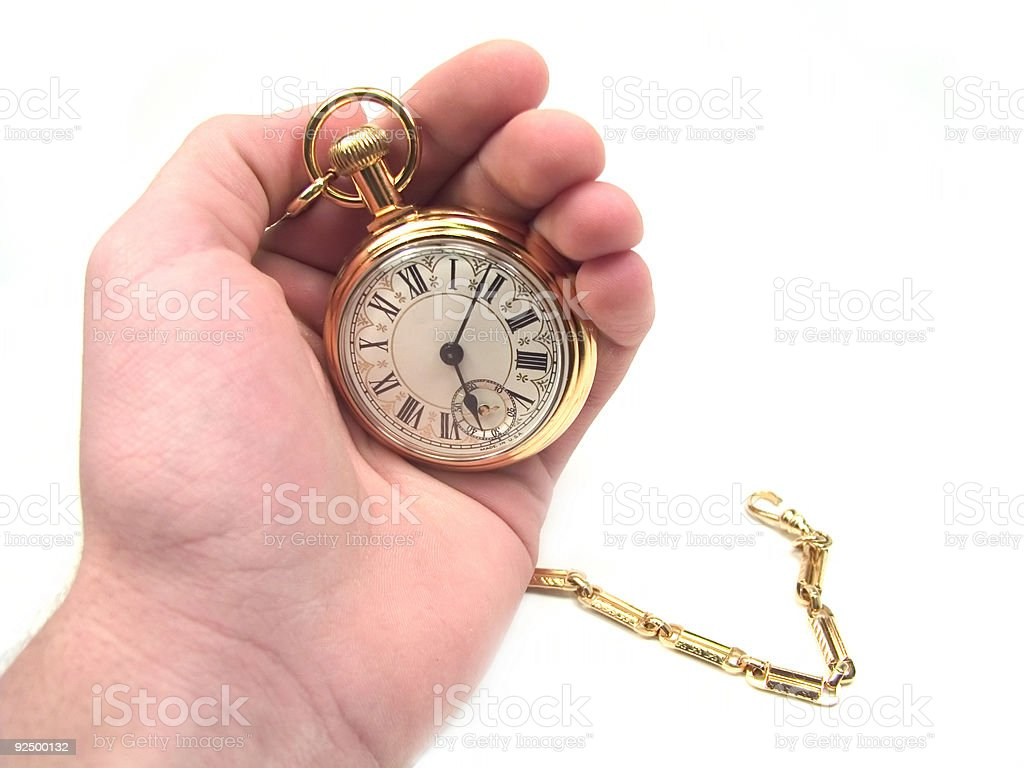 Check the Time royalty-free stock photo