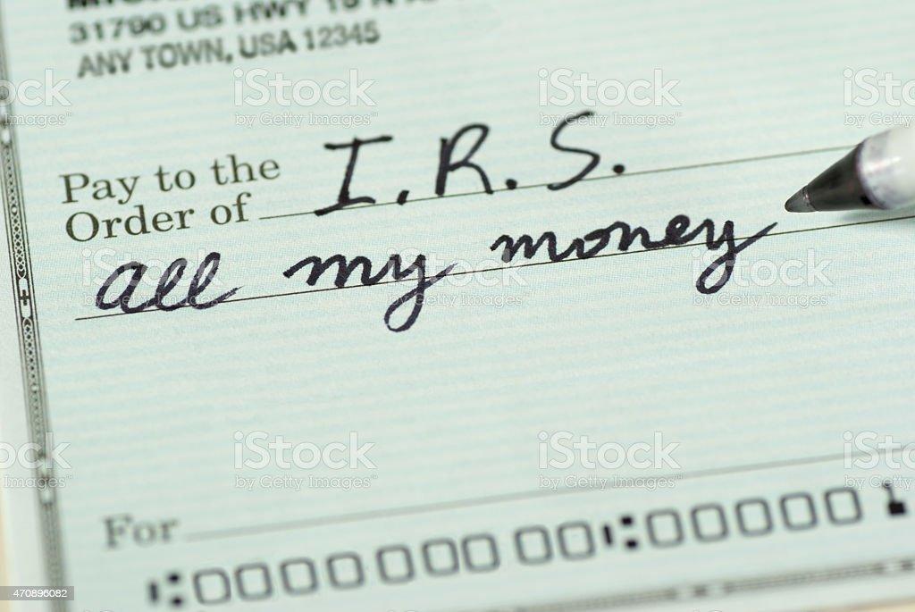 - an Internal Revenue Service für mein Geld. – Foto