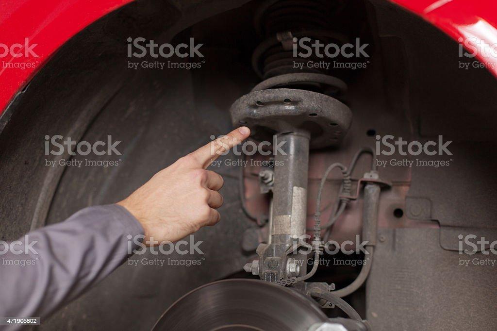 Consultez votre voiture Suspension - Photo