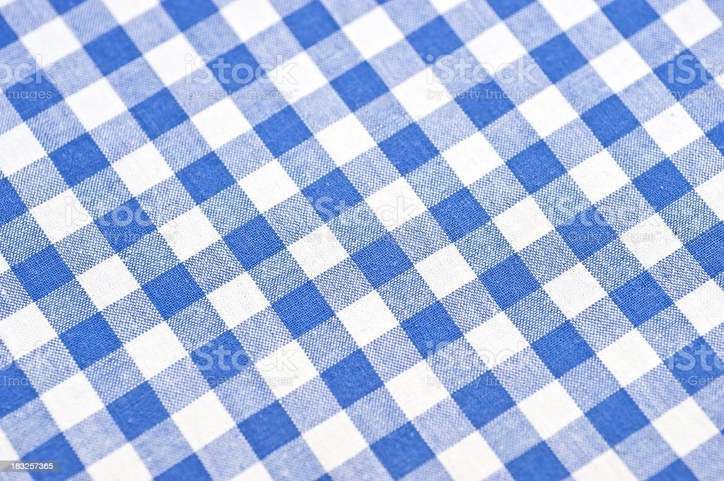 checked bavarian pattern stock photo