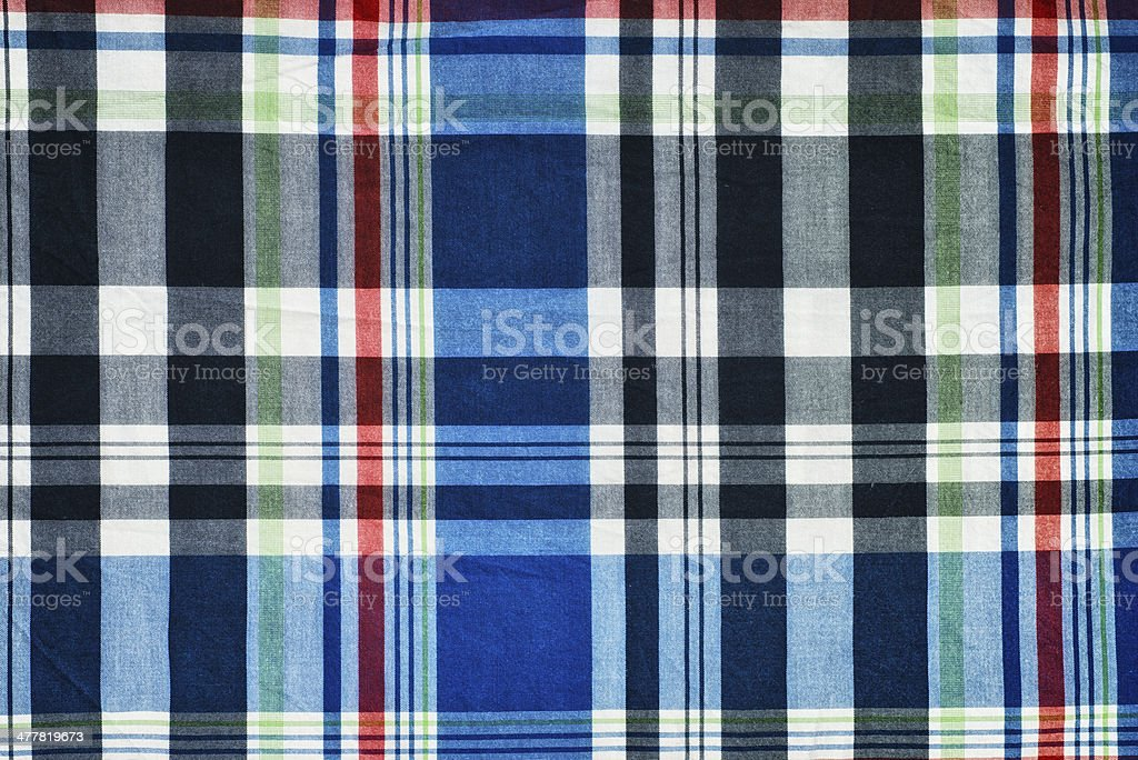 checked fabric lumberjack shirt royalty-free stock photo