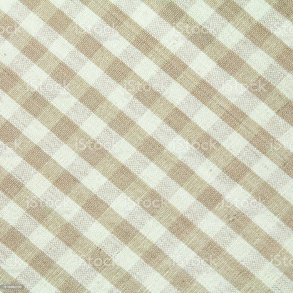 checked  fabric pattern stock photo