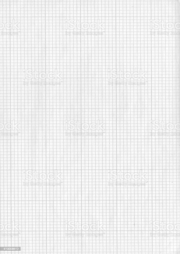 Checked paper stock photo