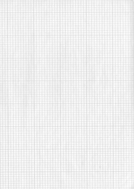 Kariertes Papier – Foto