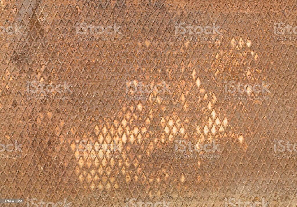 checked rust texture XXL royalty-free stock photo