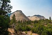Checkerboard Mesa in Zion National Park in Utah, USA