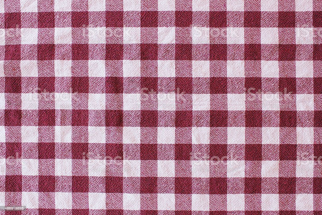 Checkerboard Tablecloth royalty-free stock photo