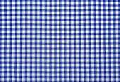 Checkered kitchen cloth.