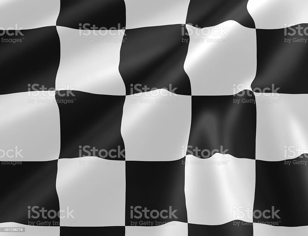 checkered racing flag royalty-free stock photo