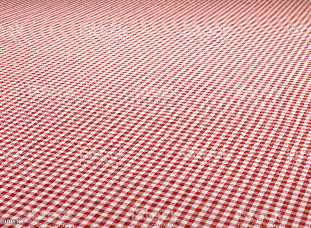 Checkered Tablecloth (Click for more) stock photo