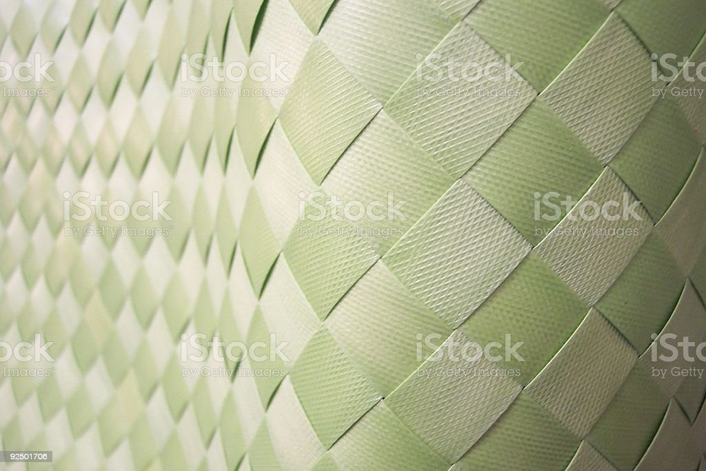 Checkered weave royalty-free stock photo