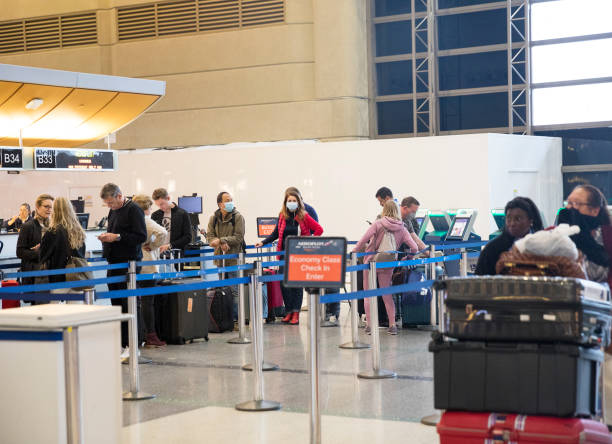 Check-in bei LAX – Foto