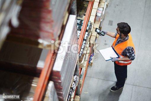 istock Checking barcodes 685855718