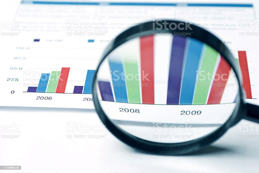 checking business balance royalty-free stock photo