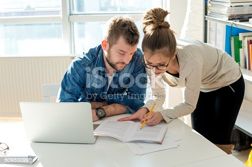 511979840 istock photo Checking documents 509300992