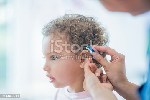 826880918 istock photo Checking Ear 826880914