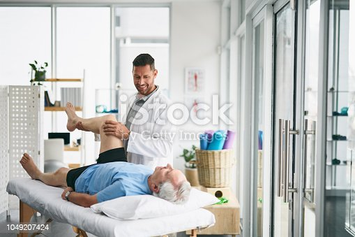 950649706istockphoto Checking every muscle in the body 1049207424