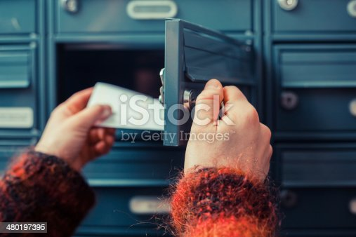 istock Checking for mail 480197395
