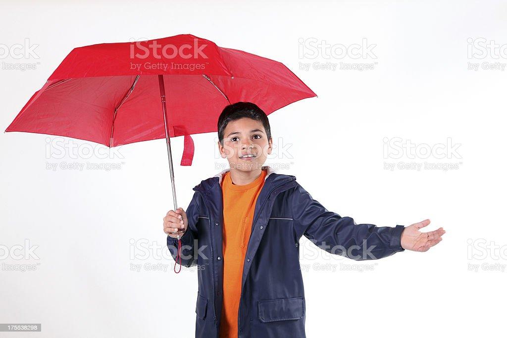 Checking For Rain royalty-free stock photo
