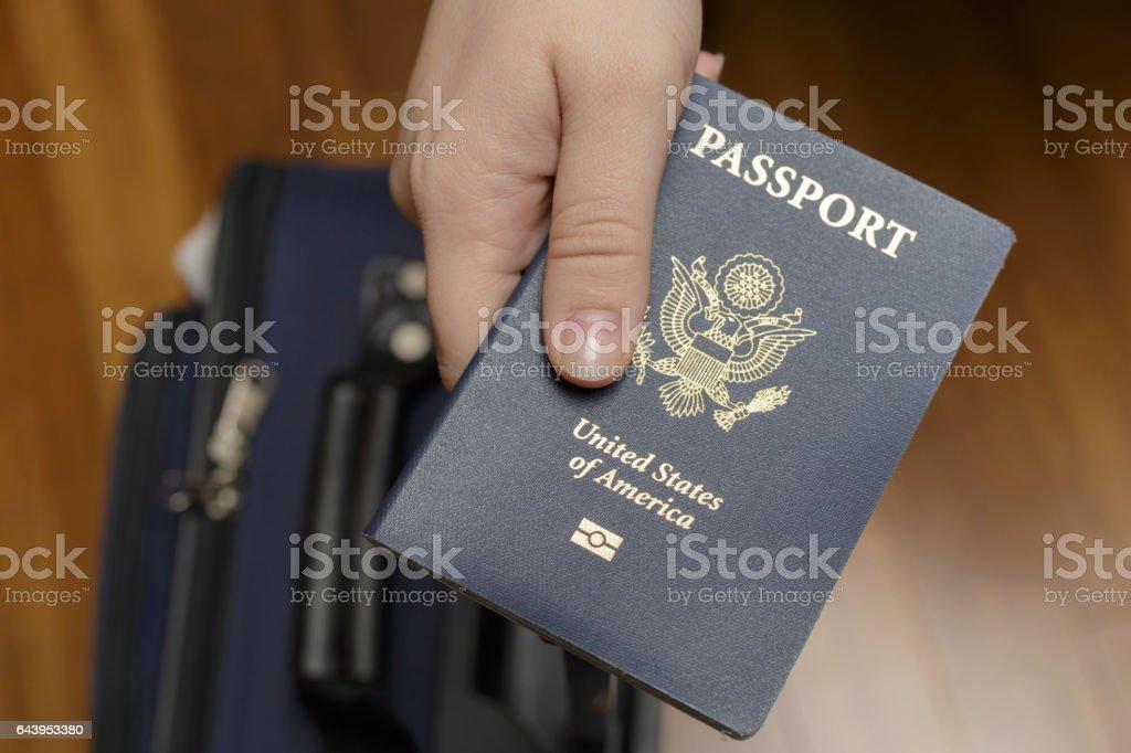 Check-in am Flughafen – Foto